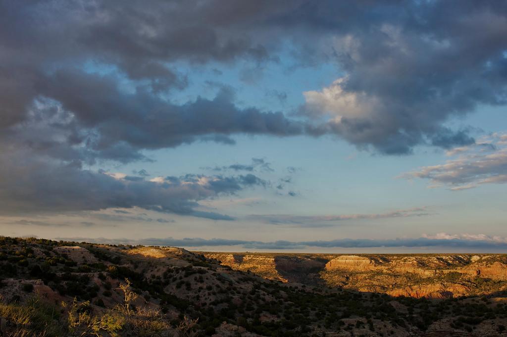Big Texas Sky - Sunset<br /> <br /> Palo Duro Canyon<br /> Texas <br /> April 2012