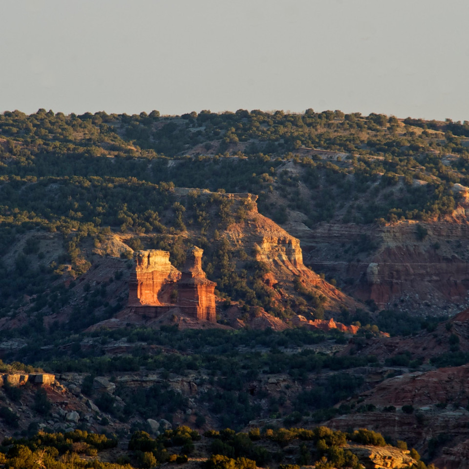 The Lighthouse from a distance.<br /> <br /> <br /> Palo Duro Canyon<br /> Texas <br /> April 2012