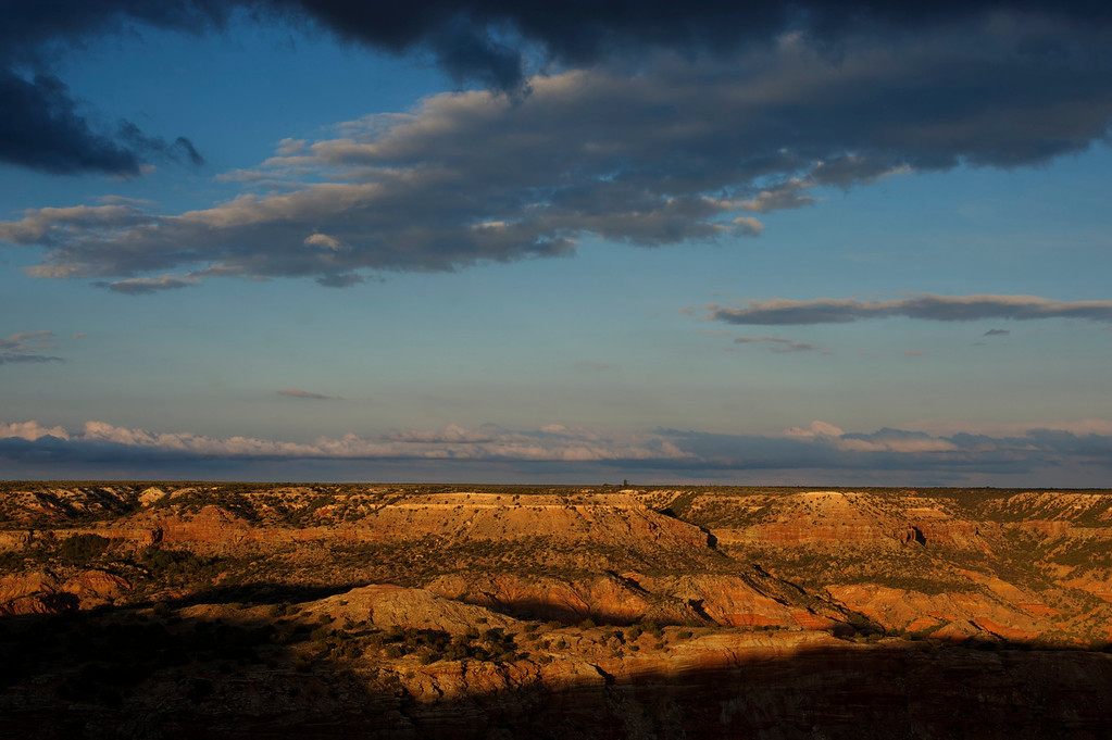 Sunset<br /> <br /> Palo Duro Canyon<br /> Texas <br /> April 2012