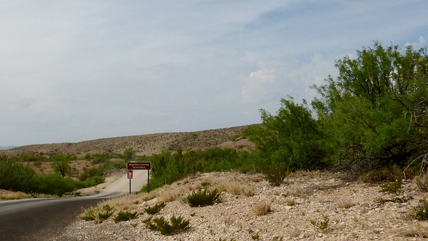 Road to Boquillas Crossing