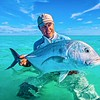 David Koepsel and a beauty of a Trevally.