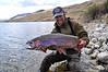 Doug Mcknight with a nice lake rainbow