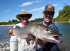Scott and James with a Bow River Pike