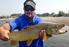 "Ryan Strandquest,  24"" Yellowstone brown on a hopper...  Photo: Hank Bechard"