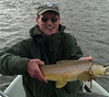 Ralph McDevitt with a nice Upper Madison brown... Photo: Ashby Bell