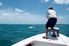 """Flyin' Brian"" on the bow... Photo: Lee Sienkowski"