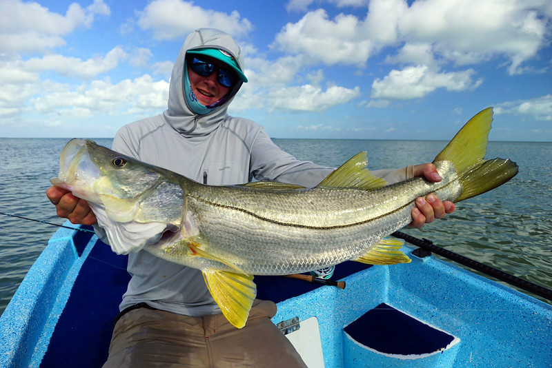 Todd Barber with a big Snook!