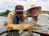 John Bond and Dr. Ebling having some Yellowstone fun!