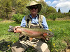 Bob Semple with a toad rainbow!  Photo: Henry Ellis