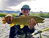 Jake Paulson with a Madison River Stud.  Photo: Eric Paulson