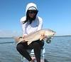 Lauren Peschka, from the Gulf!  Photo: Chris Coyne
