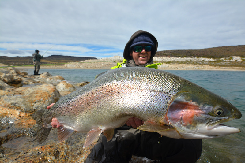 OUR YELLOWSTONE ANGLER TRIP RECORD - 27  POUNDS!