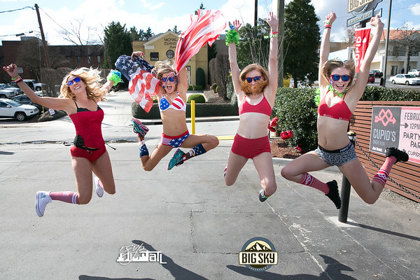 Cupid's Undie Run - Saturday 2-24-2018