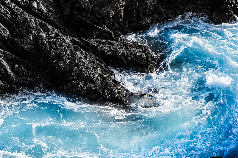 Blue Water - big Sur