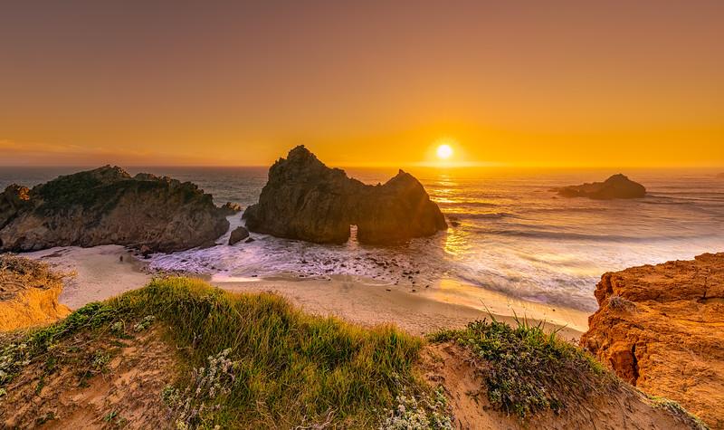 Pfeiffer Beach Sunset - Big Sur