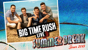 "Big Time Rush ""Summer Break"" Tour"