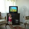 Sortumu degistirdim, etek giydim bu defa. Baby TV bakiyorum aradabir.