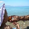 Seftalide guzel meyve kardesim, soyle denize karsi sularini akita akita yemek lazim.