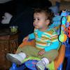 Evde baskosemde oturmus uzum yiyip Baby TV seyrediyorum. 22/10/2008.