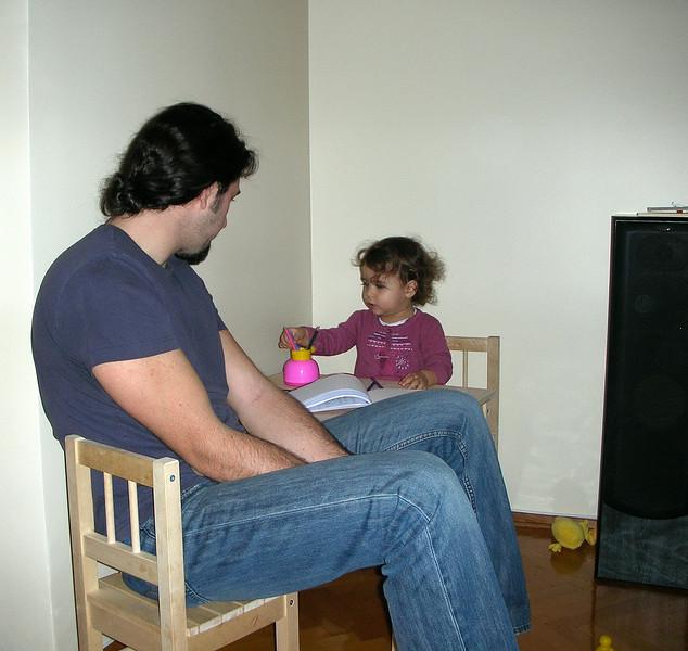 Masamin ve sandalyemin boyutlarini daha iyi anlayasiniz diye koyduk bu fotoyu.