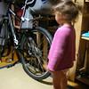 Acaba babaya soylesem yine evde bisikletle gezermiyiz ???