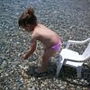 Kargi da denize gidiyoruz. Ben once bir sandalyeme oturayim bakalim nasilmis ortam ve deniz.