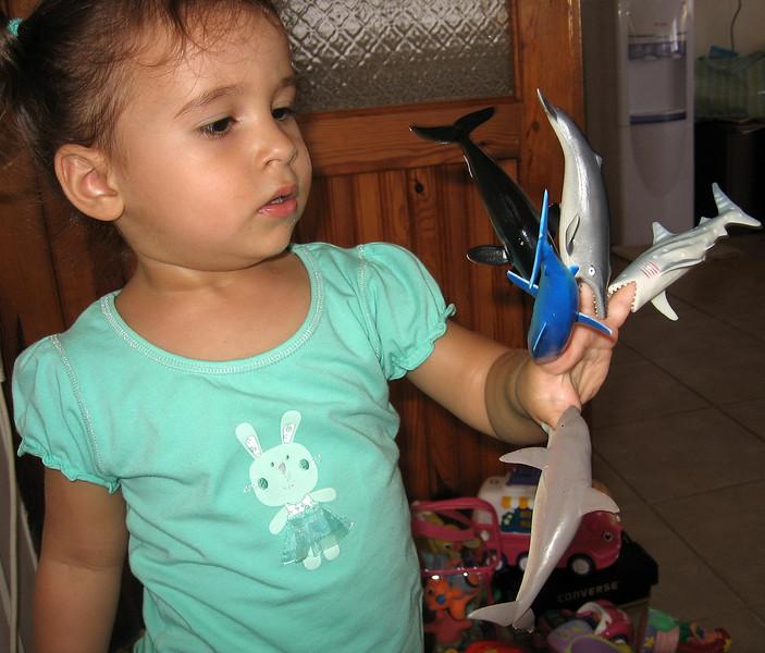 Aaa baliklar parmaklarima ne yapmis boyle ??  10/08/2009