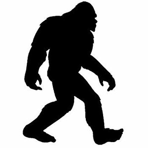 Bigfoot Drawing