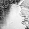 Guadalupe River in Black and White