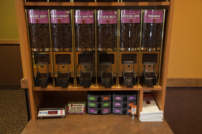 A fantastic way to try new flavors without buying a full bag at Biggby Coffee, Defiance, Ohio.
