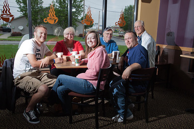 Family time is always great at Biggby Coffee, Defiance, Ohio