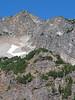 Del Campo Peak over Foggy Lake. At the original image size people can be spotted on the highest summit on the left.<br /> <br /> Gora Del Campo nad Mglistym Stawem. Po powiekszeniu zdjecia do oryginalnej rozdzielczosci mozna zobaczyc ludzi na najwyzszym szczycie po lewej.