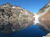 Foggy Lake and Gothic Peak on the left.<br /> <br /> Mgliste Jezioro (czy tez Mglisty Staw) pod gora Del Campo. Jezioro bylo celem naszej wycieczki.