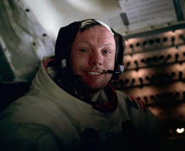 Neil. Taken by Buzz Aldrin.