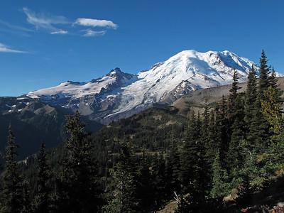 Mt. Rainier from Sourdough Ridge.