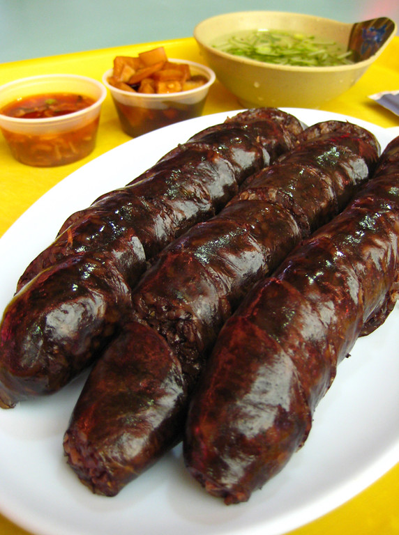 Korean Food: Soondae is a traditional blood sausage and one of 30 things to eat in South Korea,