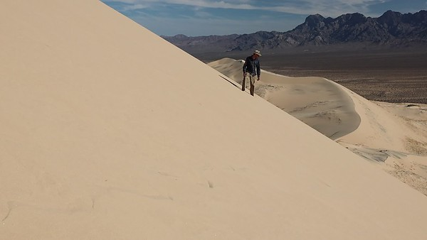 Singing sand dune