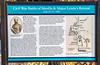 New Mexico - Civil War historical marker in Mesilla - C3-0181 - 72 ppi