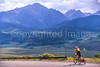 Cyclist at Ute Pass on Great Divide Trail near Silverthorne, Colorado - 10 - 72 ppi