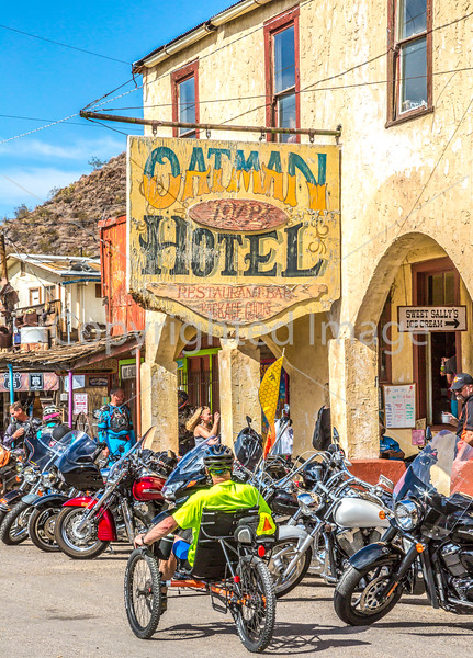 Route 66 in Oatman, AZ - C3-0226 - 72 ppi-2