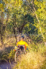 Sunset on mountain bike trail at Saguaro Nat'l Park - C3-0012 - 72 ppi