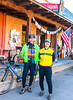 ACA - Cyclists outside Gathering Grounds Coffeehouse, Patagonia, AZ - D3-C2-0020 - 72 ppi