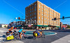 ACA - TransAm rider(s) in downtown Chanute, Kansas - C2-0087 - 72 ppi-3