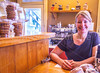 Lainee Landolt, owner, Espresso Laine in Hermann, Missouri - C2-0028 - 72 ppi