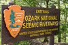 Ozark Riverways sign on MO Hwy 19 north of Eminence - C3-0017 - 72 ppi