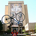 09 07-13 Ryan Iafigliola raises his bike to his alma mater, University Notre Dame. ec