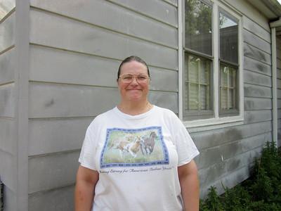 2010 07-09 Gayle Landon, homeowner.   ky