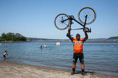 The Fuller Center Bike Adventure kicked off it's four-week West Coast ride on July 10, 2021, with a 44-mile ride from Seattle to Tacoma. (Megan Beth Media)