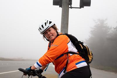 July 26, 2021 San Francisco to Santa Cruz. 76 miles and 4,700 feet elevation. (Megan Beth Media)