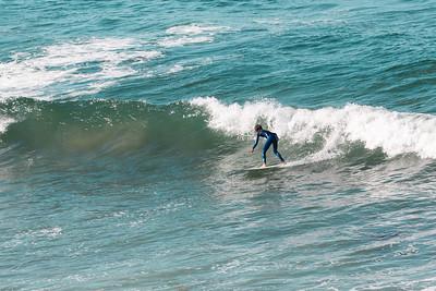 August 3, 2021 Santa Barbara to Santa Monica. Surfers. (Megan Beth Media)